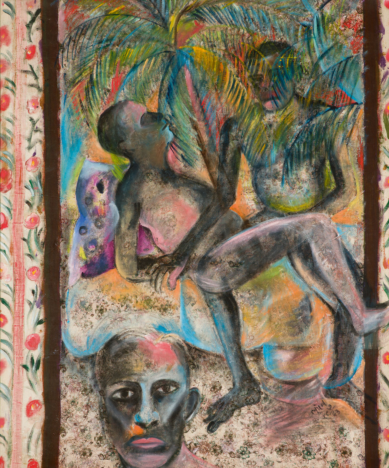 10333, Lot 66, Bhupen Khakhar, In the Coconut Groves