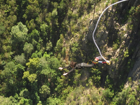 Bloukrans Bridge Bungee, Eastern Cape