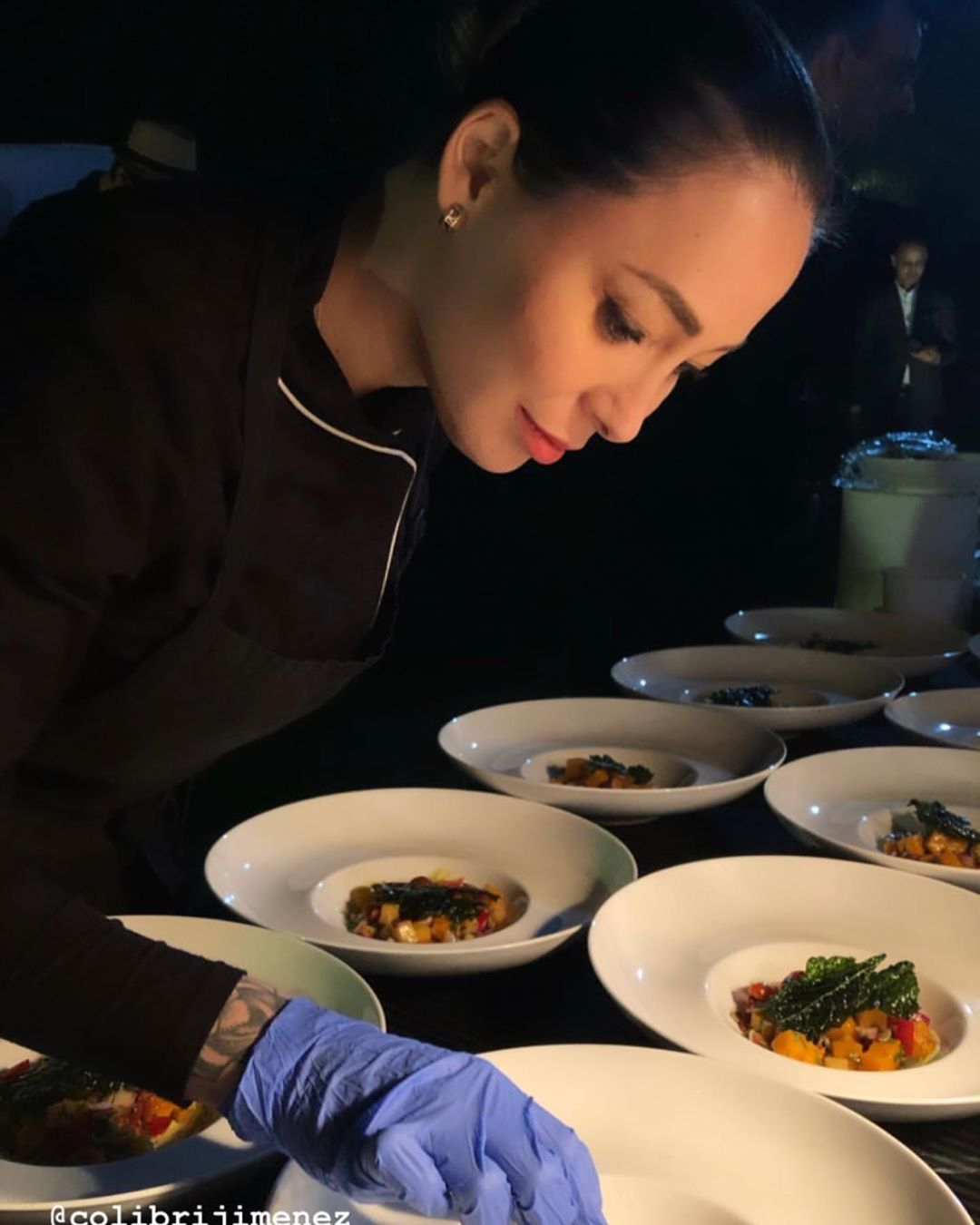 Chef Colibri Jimenez in India