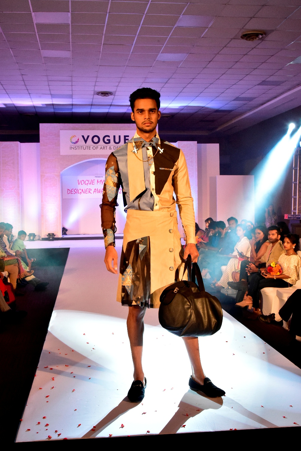 Designed by Karishma Shah, student at Vogue Institute of Art & Design