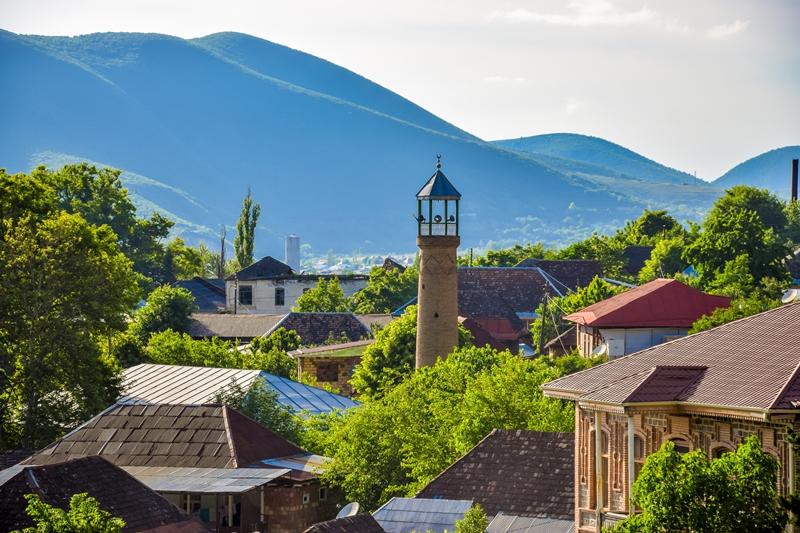 Sheki view