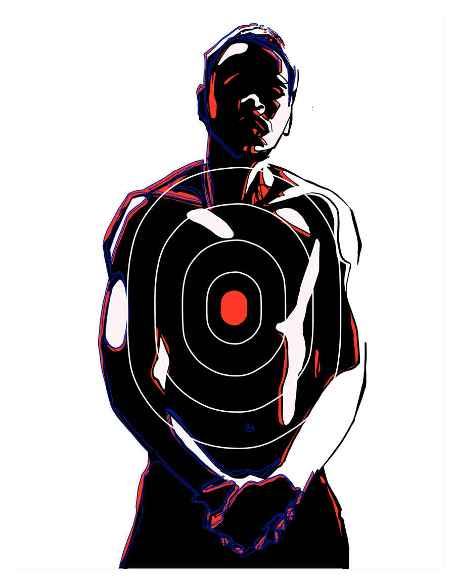 Josh Paige (b. 1990, Brooklyn, New York), Target Practice