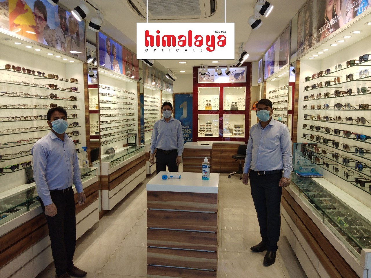 Luxottica India's partner retail store Himalaya Opticals reopens after lockdown