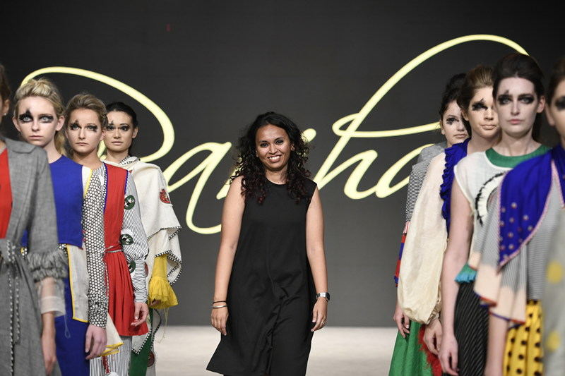 Parinitha MN at  Vancouver Fashion Week