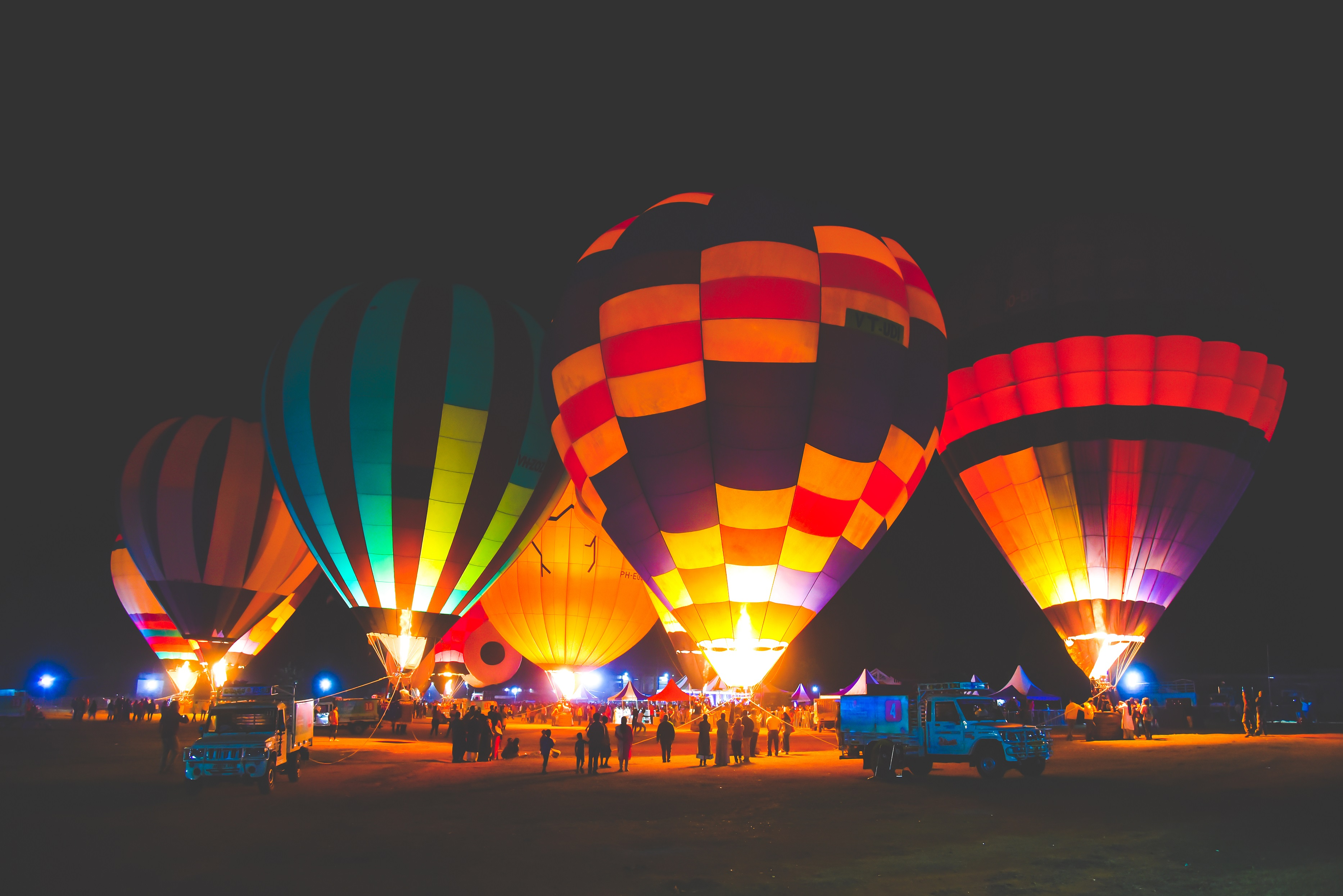 The Megahlayan Age Fest Hot air Balloon Ride