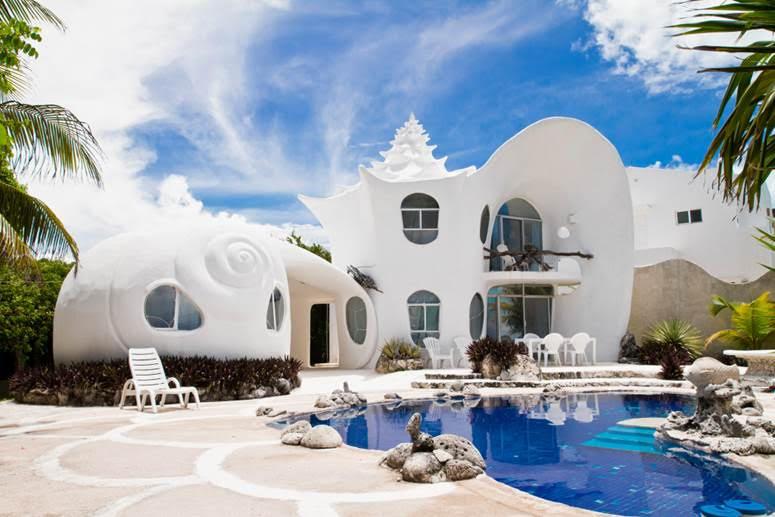The World Famous Seashell House, Isla Mujeres, Mexico