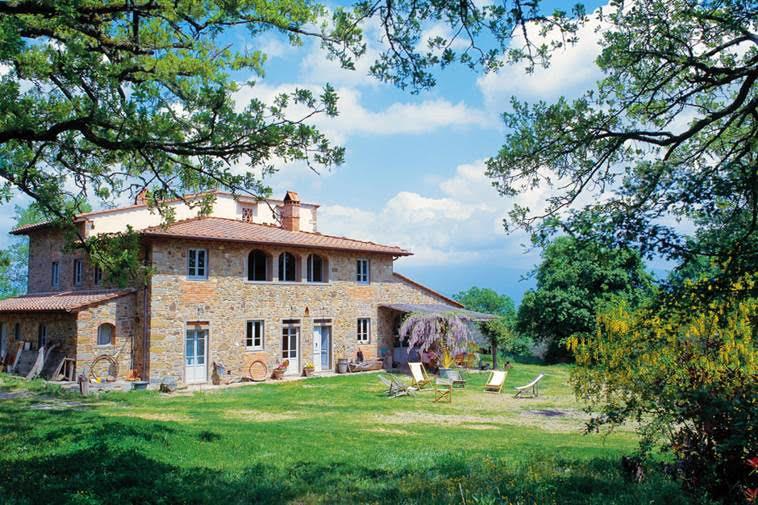 Villa Near Florence, Tuscany, Italy
