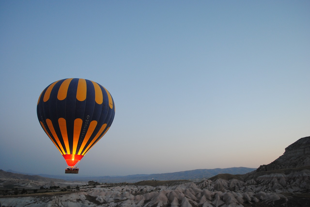 Jaipur: Hot air balloon