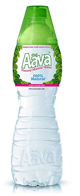 AAVA NATURAL ALKALINE MINERAL WATER