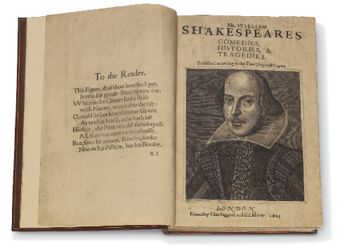 First Folio (Source-Christie's)