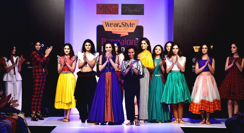 Designer Parinitha MN at Bangalore Fashion Week