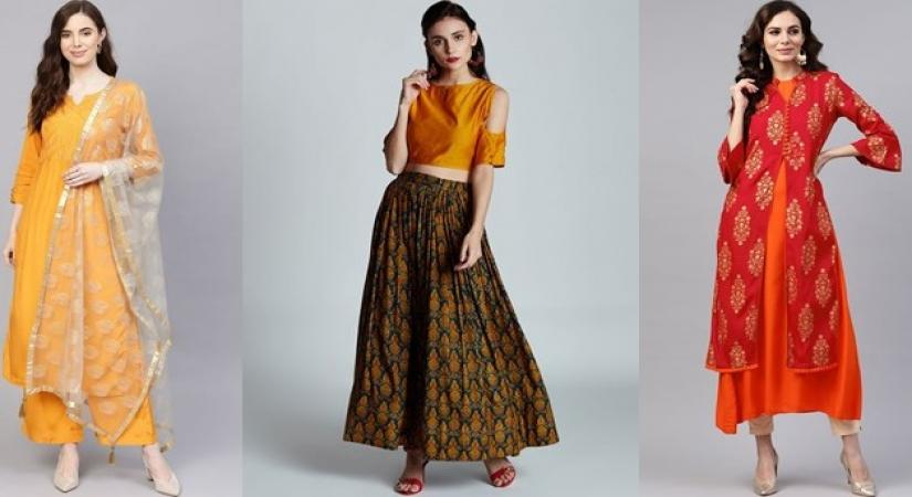 Add twist to your ethnic outfits to dazzle New Year party