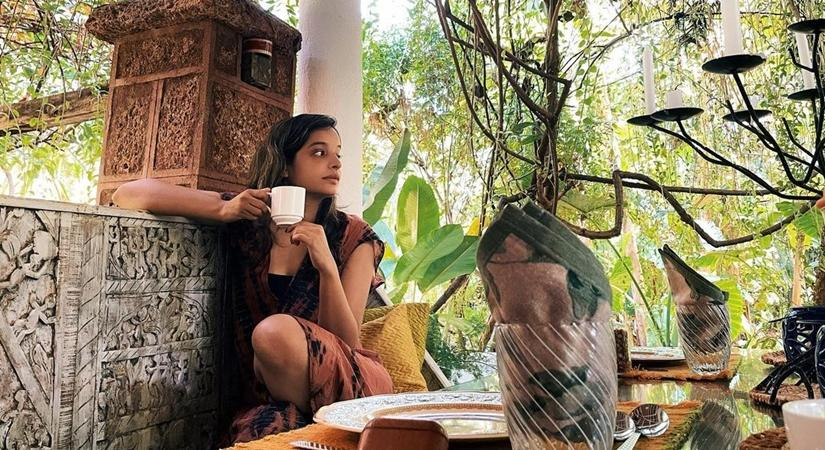 Lisa Mishra at Airbnb in Goa