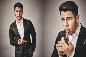 "Singer Nick Jonas is thrilled about being the first person under 30 to hold a cigar and feature on the cover of Cigar Aficionado magazine. Like most of his fans, his wife and actress Priyanka Chopra went on gushing about the ""yummy"" singer."