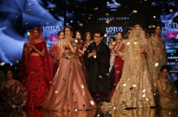 Designer Suneet Varma showcases his collection at ICW 2019