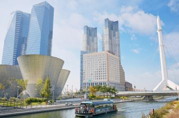 Songdo Central Park in Incheon, South Korea