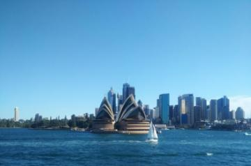 A view of the Sydney Opera House. (Photo: IANS)