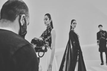 Designer duo Shantanu Nikhil present at first ever digital India Couture Week. Source FDCI