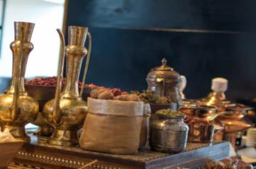 Kashmiri spices and kahwa (Source: Westin Gurgaon)
