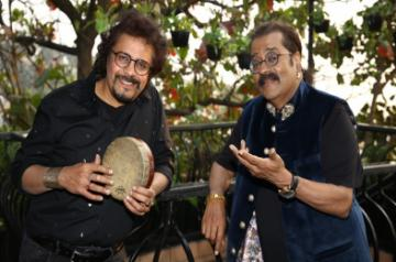 Bickram Ghosh and Hariharan at their EP launch of Ishq – Songs Of Love